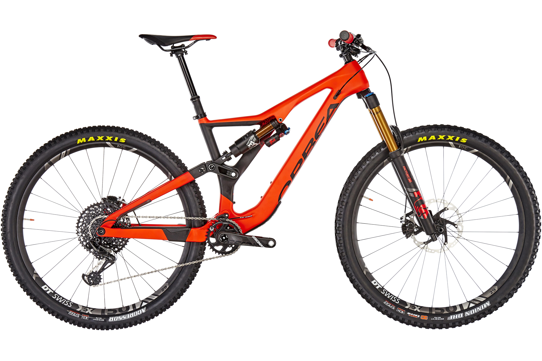 ORBEA Rallon M-Team MTB Fullsuspension rød/sort | Find cykeltilbehør på nettet | Bikester.dk